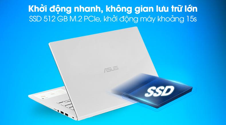 Laptop Asus VivoBook X415JA (EK258T) - Ổ SSD