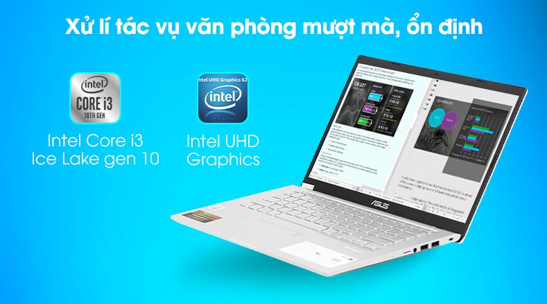 Laptop Asus VivoBook X415JA (EK258T) - Chip