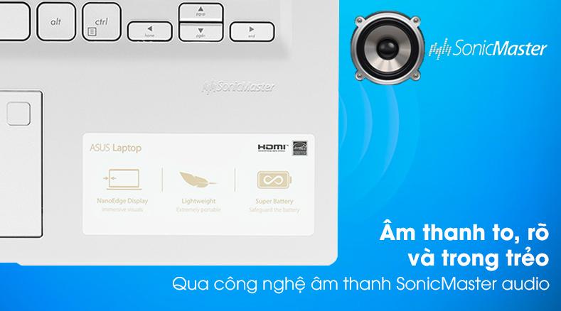Laptop Asus VivoBook X415JA (EK258T) - Âm thanh