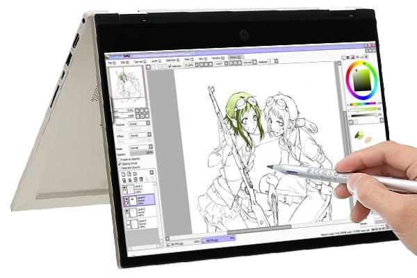 Laptop HP Pavilion x360 dw1016TU i3 1115G4/4GB/256GB/Touch/Pen/Office H&S2019/Win10 (2H3Q0PA)