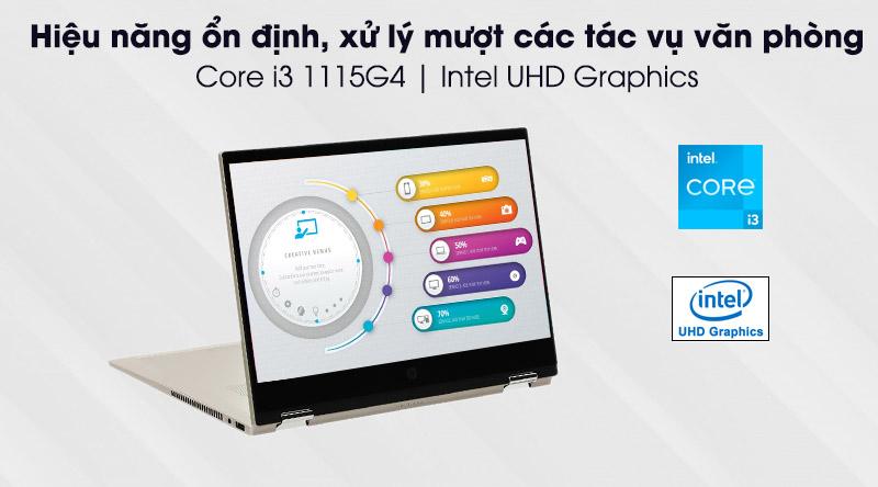 HP Pavilion x360 dw1016TU i3 (2H3Q0PA) - cấu hình