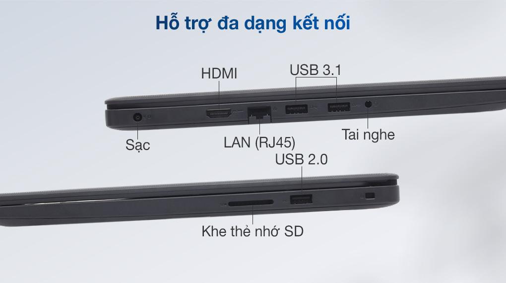 Dell Vostro 3500 i7 1165G7 (7G3982) - Cổng kết nối