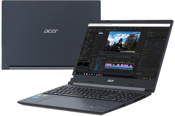Laptop Acer Aspire 7 A715 42G R4ST R5 5500U/8GB/256GB/4GB GTX1650/Win10 (NH.QAYSV.004)