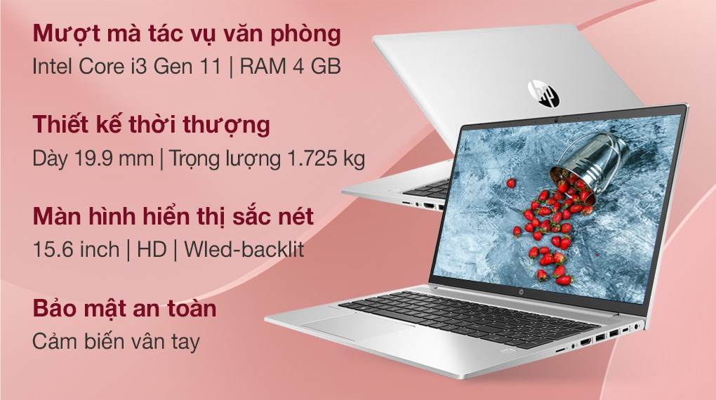 HP Probook 450 G8 i3 1115G4 (2H0U4PA)