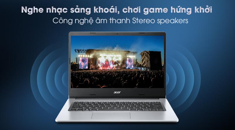 Acer Aspire 3 A314 35 P6JF N6000 (NX.A7SSV.003) - Âm thanh