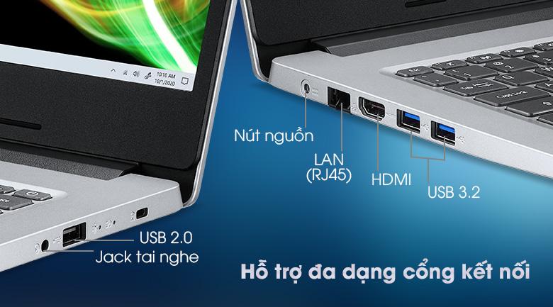 Acer Aspire 3 A314 35 P6JF N6000 (NX.A7SSV.003) - Cổng kết nối