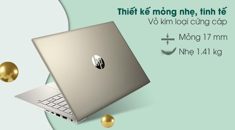 Laptop HP Pavilion 14 dv0010tu i5 (2D7A9PA) - Thiết kế