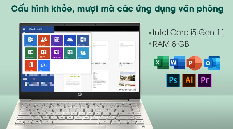 Laptop HP Pavilion 14 dv0010tu i5 (2D7A9PA) - Cấu hình