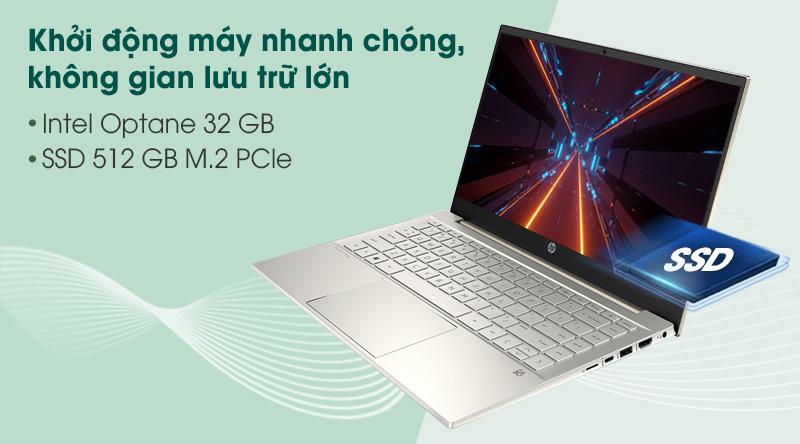 Laptop HP Pavilion 14 dv0010tu i5 (2D7A9PA) - SSD