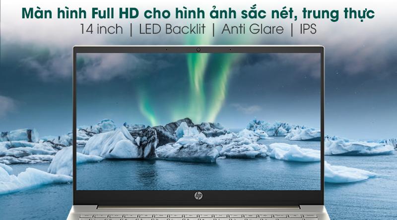 Laptop HP Pavilion 14 dv0010tu i5 (2D7A9PA) - Màn hình