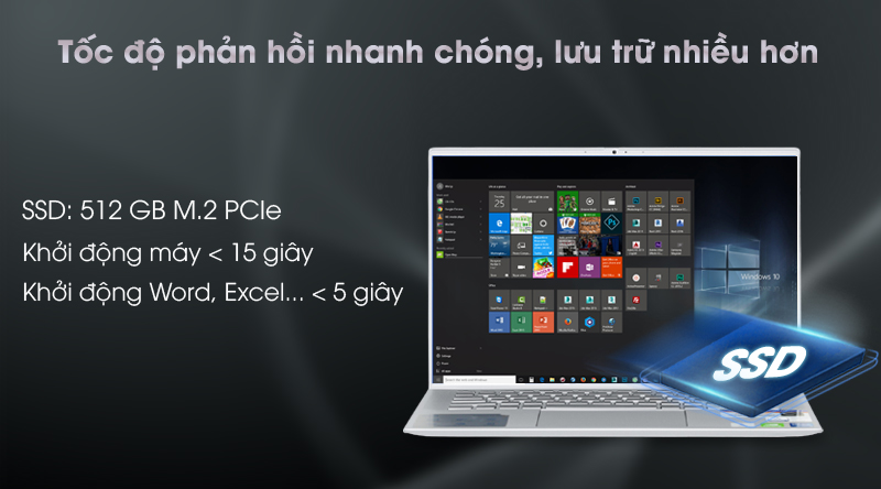 Dell Inspiron 7400 i5 1135G7 (N4I5206W) - SSD