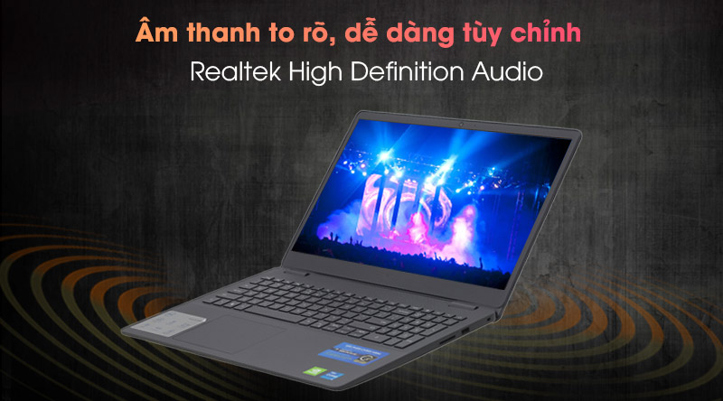Laptop Dell Vostro 3500 i5 (P90F006V3500B) - Âm thanh