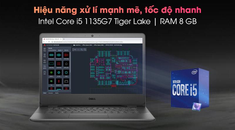 Laptop Dell Vostro 3500 i5 (P90F006V3500B) - Cấu hình
