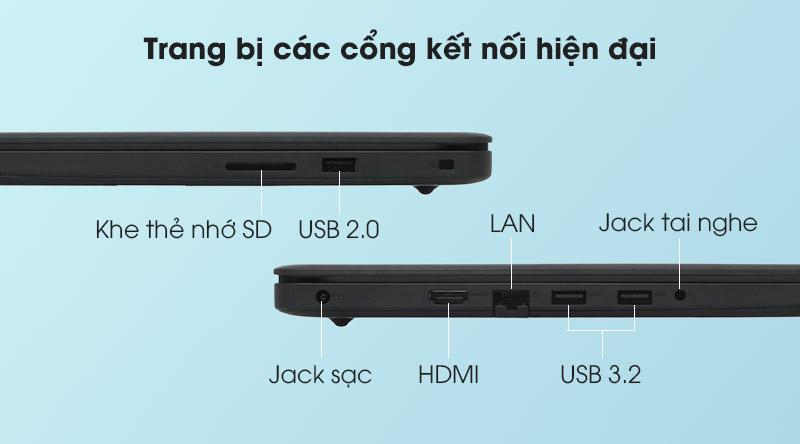 Dell Inspiron 3501 i3 1115G4 (P90F005N3501C) - Cổng kết nối
