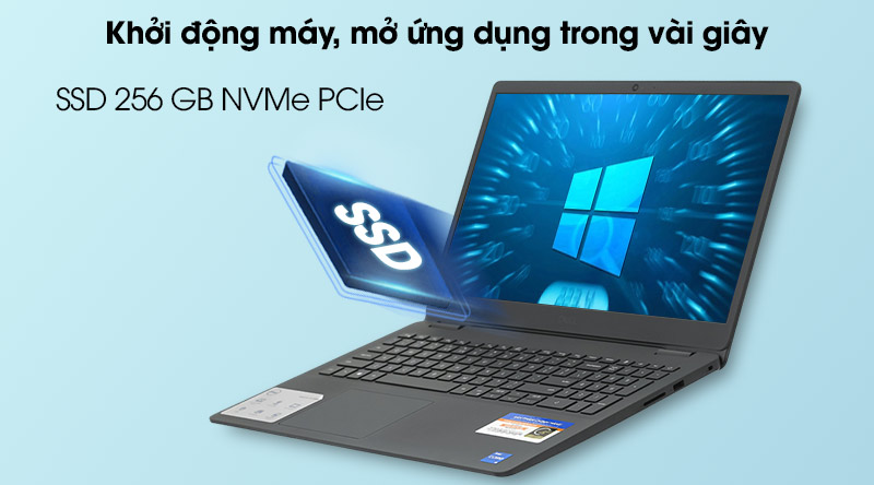 Dell Inspiron 3501 i3 1115G4 (P90F005N3501C) - Ổ cứng SSD