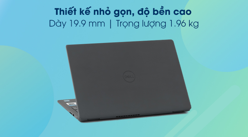 Laptop Dell Inspiron 3501 i5 (P90F005N3501B) - Thiết kế