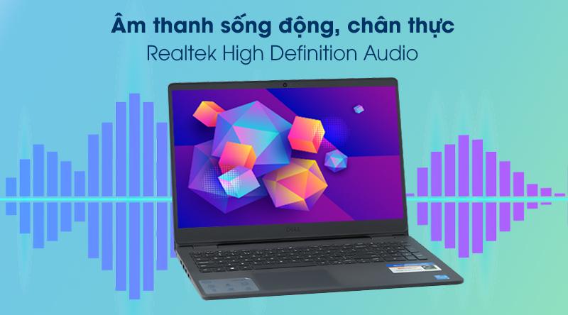 Laptop Dell Inspiron 3501 i5 (P90F005N3501B) - Âm thanh