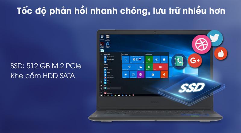 Laptop Dell Vostro 3400 i7 (V4I7015W) - SSD