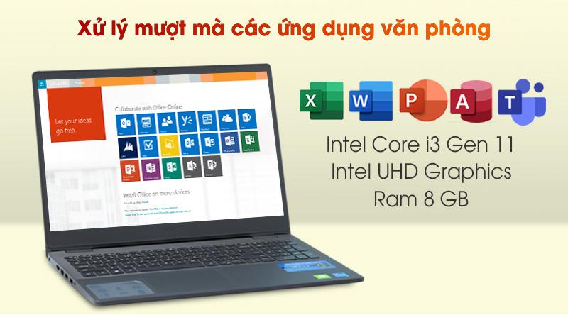 Laptop Dell Vostro 3500 i3 (V5I3001W) - Cấu hình