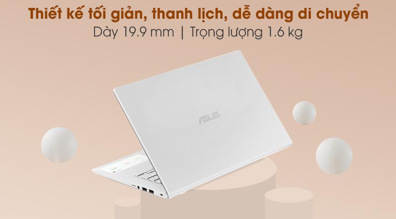 Laptop Asus VivoBook X415JA i5 (EK090T) - Thiết kế
