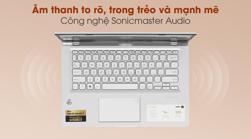 Laptop Asus VivoBook X415JA i5 (EK090T) - Âm thanh