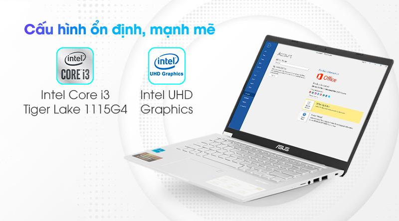 Laptop Asus VivoBook X415EA i3 (EK044T) - Cấu hình