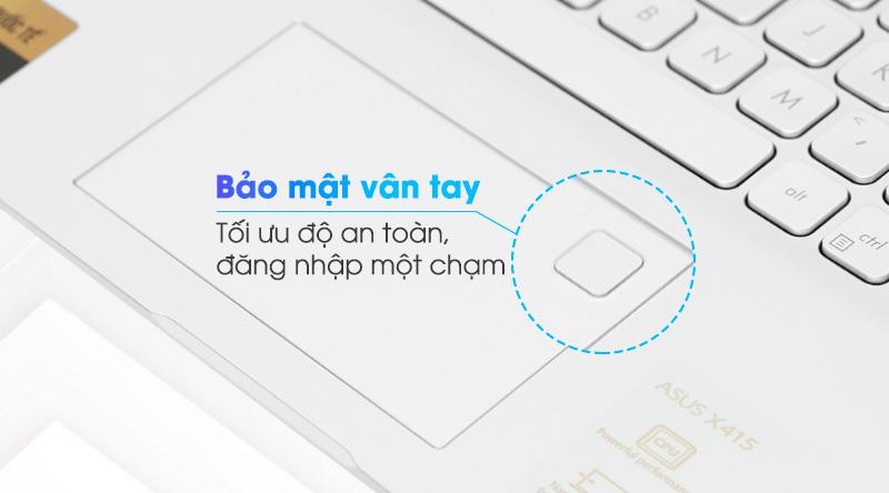 Laptop Asus VivoBook X415EA i3 (EK044T) - Cảm biến vân tay