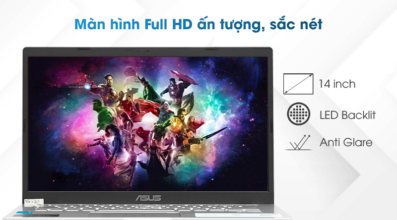 Laptop Asus VivoBook X415EA i3 (EK044T) - Màn hình
