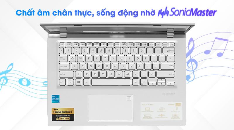 Laptop Asus VivoBook X415EA i3 (EK044T) - Âm thanh