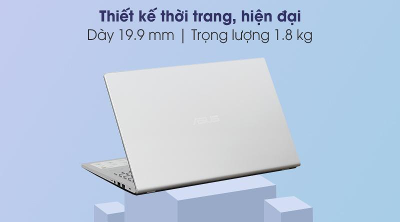 Laptop Asus VivoBook X515EA i3 (EJ065T) - Thiết kế