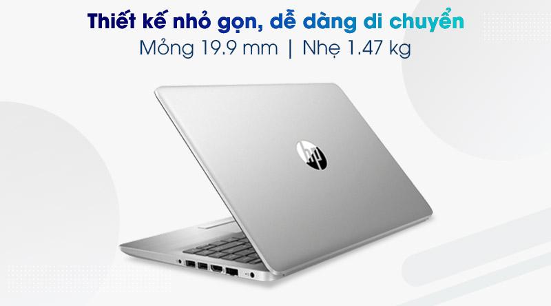 Laptop HP 245 G8 R5 (345R8PA) - Thiết kế