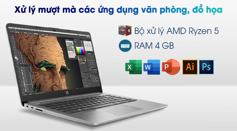 Laptop HP 245 G8 R5 (345R8PA) - Cấu hình
