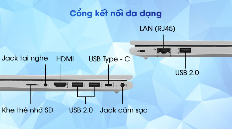 HP ProBook 440 G8 i3 (2H0R6PA) - Cổng kết nối
