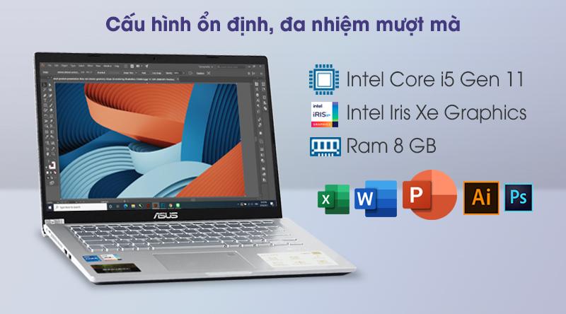 Laptop Asus VivoBook X415EA i5 (EK033T) - Cấu hình