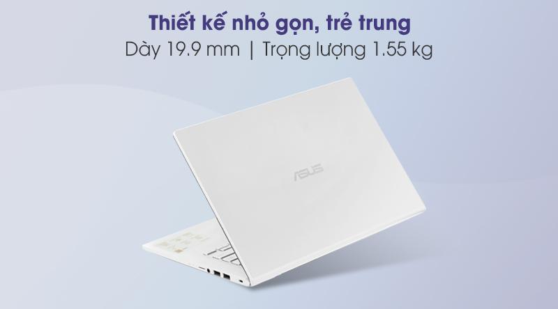 Laptop Asus VivoBook X415EA i5 (EK033T) - Thiết kế