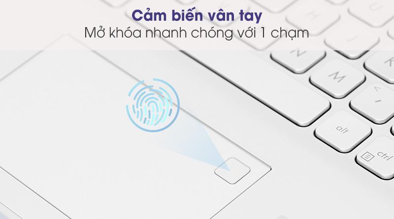 Laptop Asus VivoBook X415EA i5 (EK033T) - Vân tay