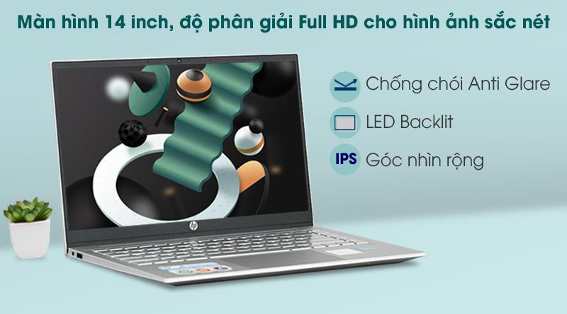 Laptop HP Pavilion 14 dv0041TU i3 (2H3L0PA) - Màn hình