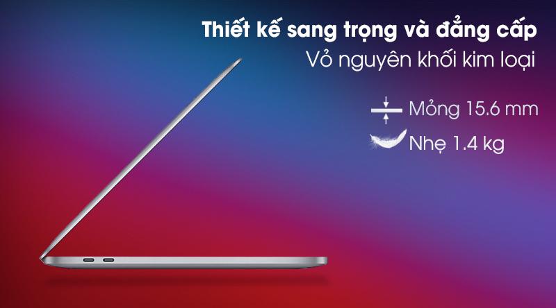 MacBook Pro M1 16GB/1TB SSD.Space Grey (Z11C000CJ) - Thiết kế