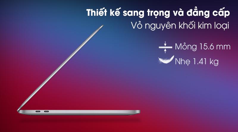 Macbook Pro M1 2020/16GB/1TB SSD (Z11C000CJ) - Thiết kế