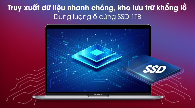 Macbook Pro M1 2020/16GB/1TB SSD (Z11C000CJ) - SSD