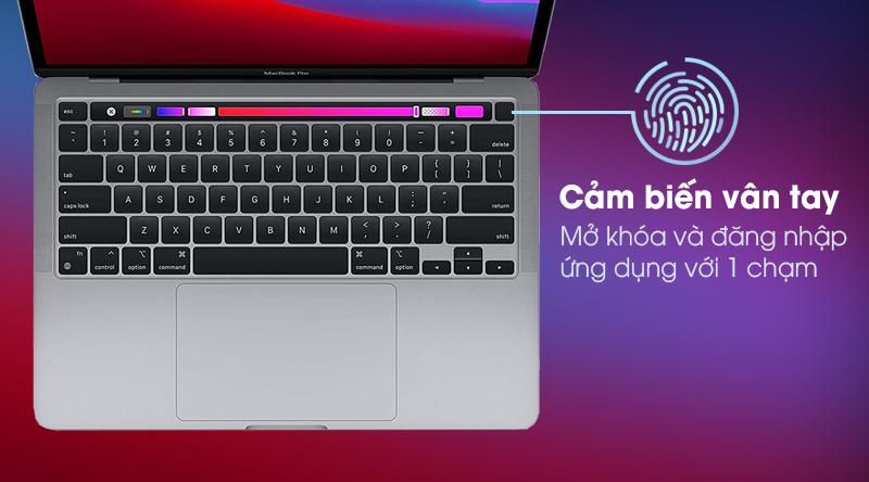 Macbook Pro M1 2020/16GB/1TB SSD (Z11C000CJ) - Vân tay
