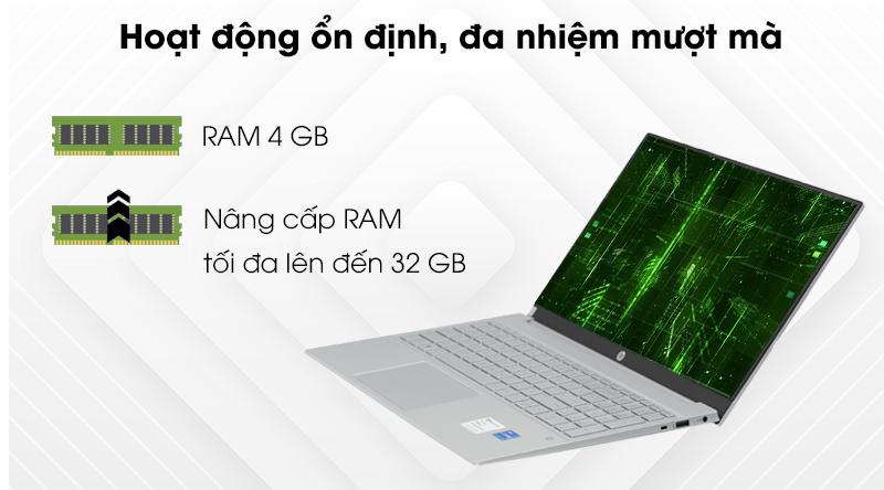 HP Pavilion 15 eg0007TU i3 1115G4 (2D9K4PA) - RAM