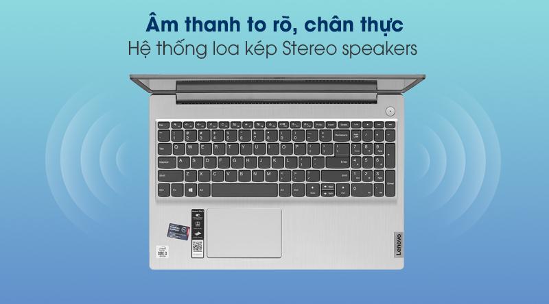 Laptop Lenovo IdeaPad Slim 3 15IIL05 i3 (81WE0132VN) - Âm thanh