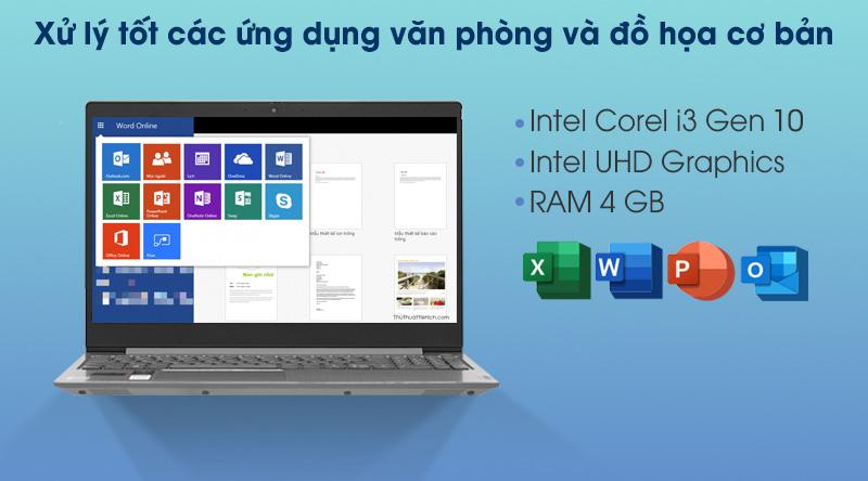 Lenovo IdeaPad 3 15IIL05 i3 1005G1 (81WE0132VN) - Cấu hình