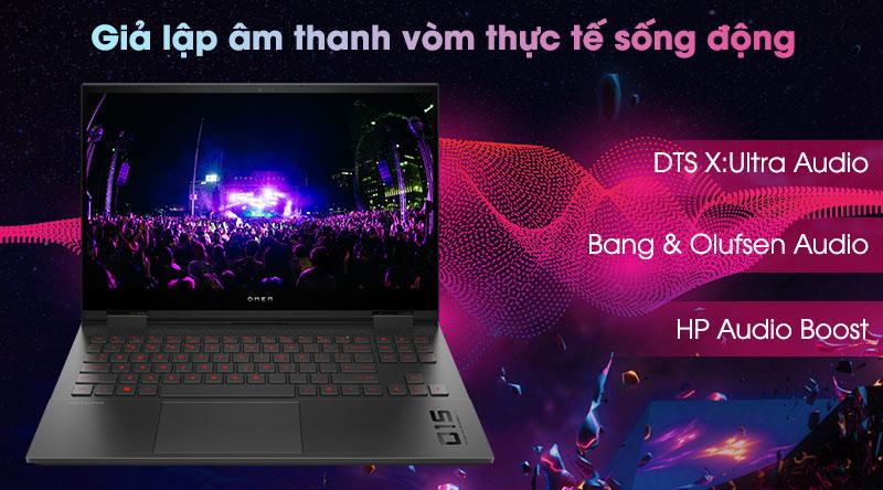 HP Omen 15 ek0078TX i7 (26Y68PA) - Âm thanh