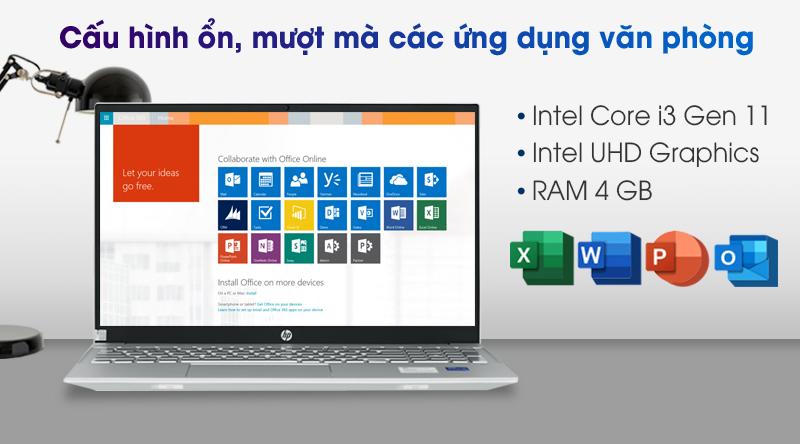 Laptop HP Pavilion 15 eg0073TU i3 - Cấu hình