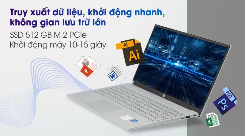 Laptop HP Pavilion 15 eg0073TU i3 - SSD