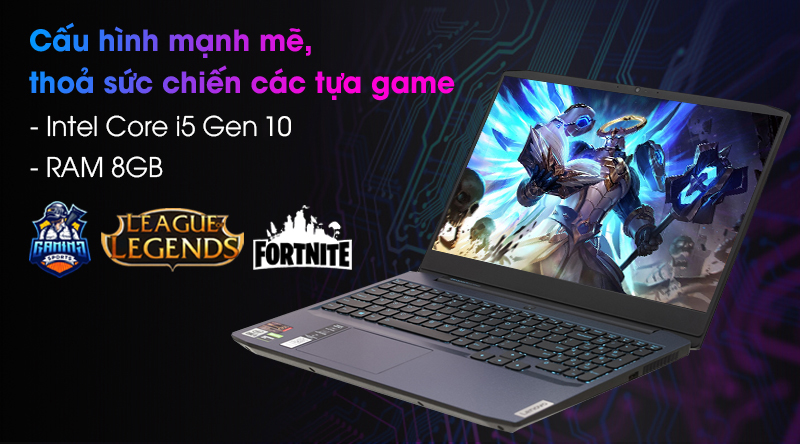 Lenovo Ideapad Gaming 3 15IMH05 i5 (81Y4013VVN) - Cấu hình