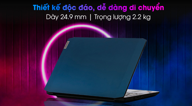 Laptop Lenovo IdeaPad Gaming 3 15IMH05 i5 - Kích thước