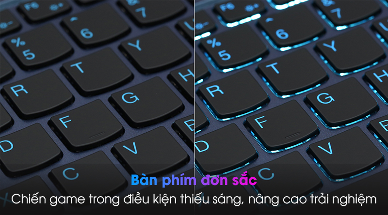 Lenovo Ideapad Gaming 3 15IMH05 i5 (81Y4013VN) - Đèn nền